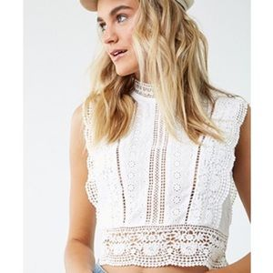 NWT Lace Blouse ☁️